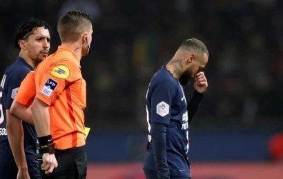 Ligue 1: Neymar sent off as PSG beat Bordeaux in seven-goal thriller
