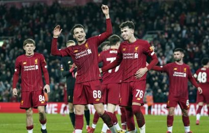 Liverpool kids win FA Cup replay against Shrewsbury with Jurgen Klopp absent