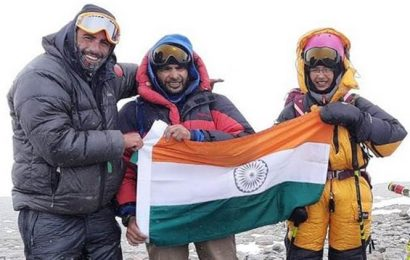 Mumbai girl becomes youngest in world to climb South America's highest peak