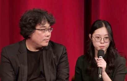 Sharon Choi, Bong Joon Ho's interpreter, wants to make a film
