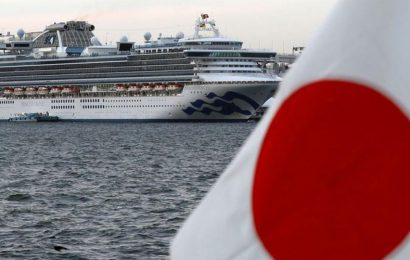 'Didn't have a goodbye kiss': Man aboard quarantine Japanese cruise on V-Day