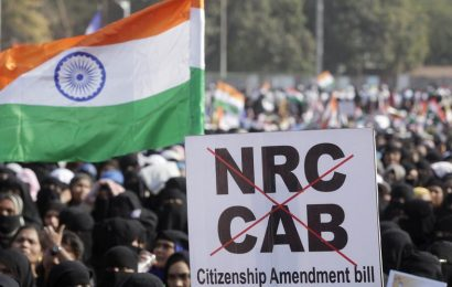 Thousands protest at Mumbai's Azad Maidan against CAA, NRC, NPR