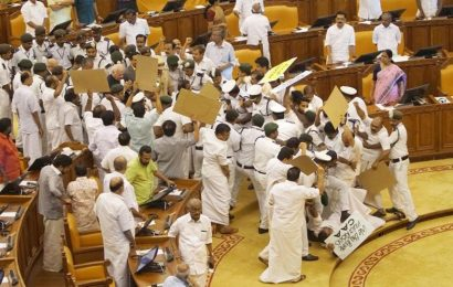 Gandhi assassination image on budget paper is a message, says Kerala govt, triggers row