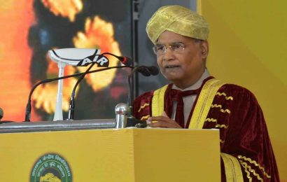 President Kovind stresses on value- based education to make students good human beings
