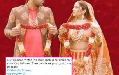 #ColorsBanMSK: Shehnaaz Gill को किसी और की बाहों में देखकर भड़के सिडनाज के फैंस, शो को बंद करने की दे रहे हैं धमकी