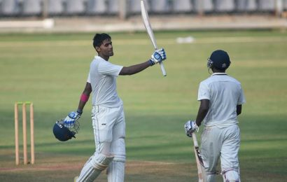 Suryakumar Yadav leads Mumbai's fightback with ton against Saurashtra