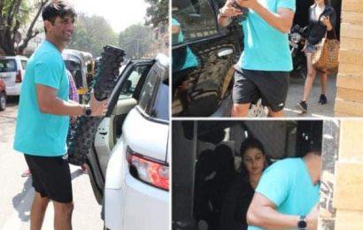 Rhea Chakraborty और Sushant Singh Rajput ने Join किया एक ही जिम, मीडिया को देखते ही छिपाने लगे चेहरा