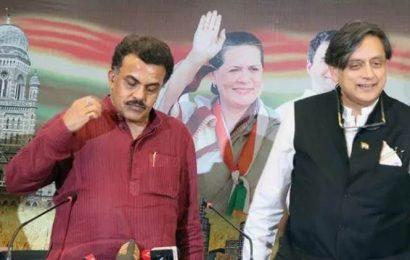 Leadership debate on, Congress hits out at Tharoor, Dikshit