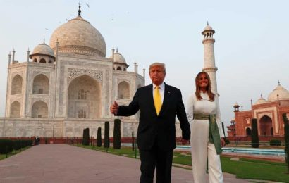 'Inspires awe': US President Trump, First Lady tour the Taj Mahal