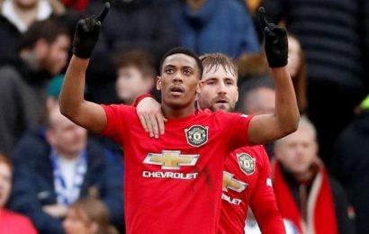Man Utd's Solskjaer backs Anthony Martial to regain scoring touch