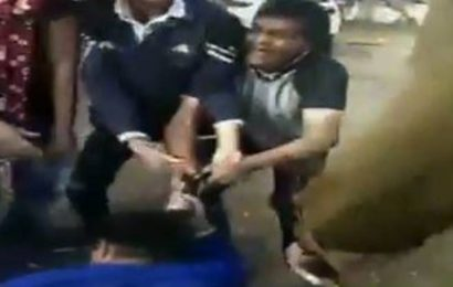 Madhya Pradesh cop thrashes wife for 'opposing his illicit affair'