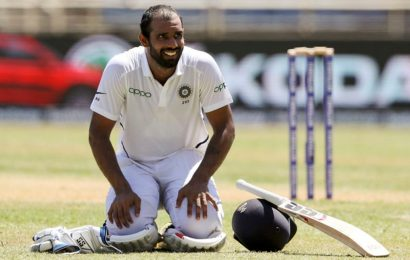 No one has asked me but ready to open if needed: Hanuma Vihari