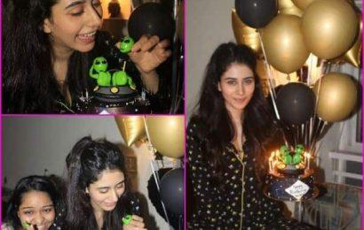 'Lovayatri' अभिनेत्री Warina Hussain ने ठीक 12 बजे मनाया अपना 21वां बर्थडे, देखें ये शानदार Photos