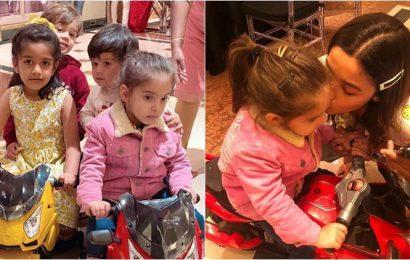 Yash-Roohi birthday party: Taimur, Inaaya, Zain, AbRam and other star kids have a blast