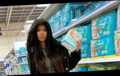 Faryal Makhdoom slams trolls after she's mocked for posing in nappy aisle