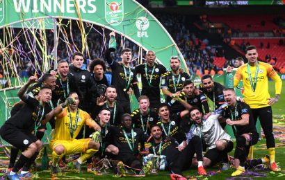 Dominant City beat Villa to win third straight League Cup