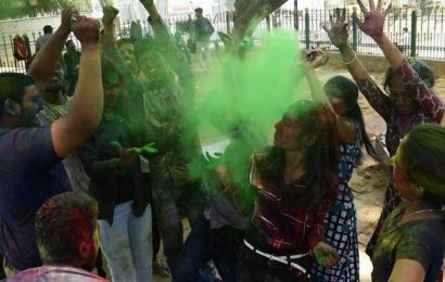 COVID-19 takes the colour out of Holi