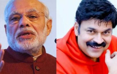 Mega brother's satire on Modi's exit