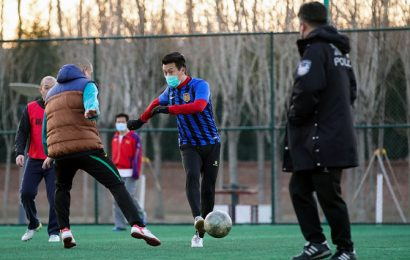 Chinese football eyeing return to action