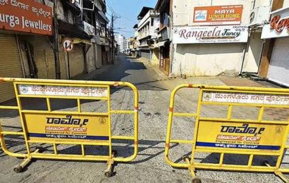 Central Market in Mangaluru closed for public retail sales