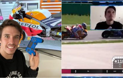 Even in MotoGP's virtual world, a Marquez still rules