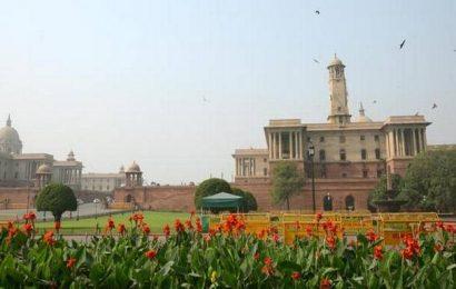 Pleasant morning in Delhi