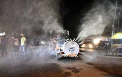 Coronavirus: Ludhiana industrialist lends hi-tech machine that's now disinfecting city 24×7