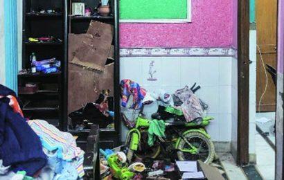 Delhi: In Ganga Vihar lane, retired sub-inspector's home is mob's lone target