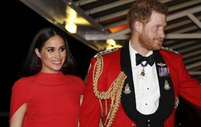Prince Harry, Meghan Markle bid formal farewell as frontline royals