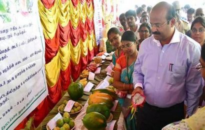 Horticulture expo, conference under way in Virinjipuram