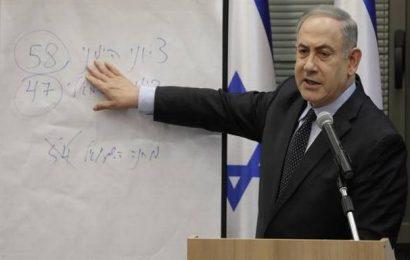Israel's Netanyahu falls short of parliamentary majority