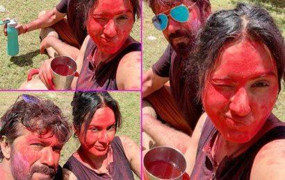 शादी के बाद Kamya Punjabi ने पति Shalabh Dang संग मनाई पहली होली, तस्वीरों में दिखा मस्ती भरा अंदाज