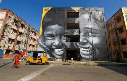 Watch   Chennai's Kannagi Nagar transforms into an art district
