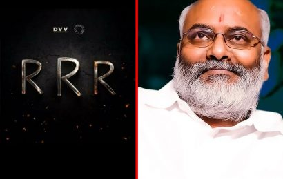 Keeravani to get Cheque of Rs 16 Cr for RRR