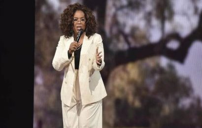 Oprah Winfrey launches series about COVID-19, talks to Idris Elba in first episode