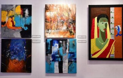 Meditations on canvas; The sixth edition of I Rise exhibition organised by Art Houz features works of 11 women artists