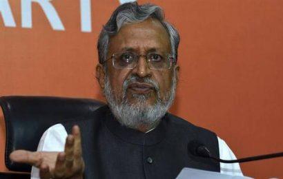 Striking Bihar teachers to get salary increment but not pay parity, says Deputy CM Sushil Modi