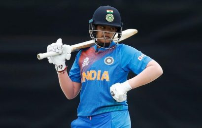 Shafali Verma, 16, rises to top in ICC women's T20 rankings