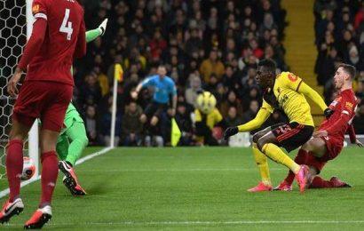 Watford brings Liverpool's run to a shuddering halt