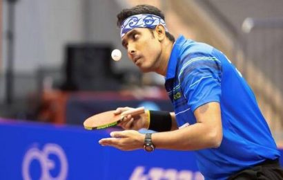 Table tennis   I played my best in the final: Sharath Kamal