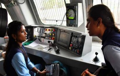On Women's Day, women power to the fore at Railways' Salem Division
