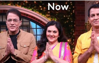 Ramayan's Ram, Sita and Lakshman visit The Kapil Sharma Show 33 years later. Then and now pic is viral
