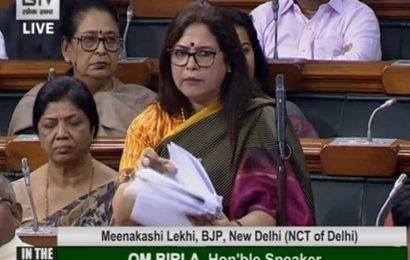 'Controlled Delhi violence in 36 hrs': Meenakshi Lekhi defends govt in Lok Sabha