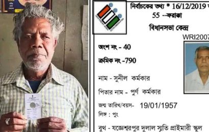 Bengal man with dog's photo on voter ID receives corrected card
