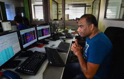 Sensex cracks 3,000 points to 26,730 as trading resumes after halt