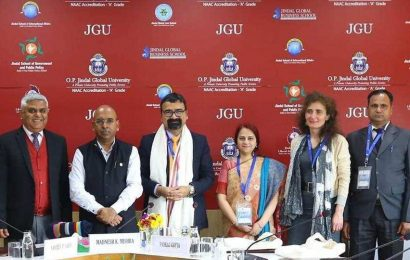 Conference on Spirituality and Management held in OP Jindal University