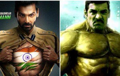 John Abraham shares meme of himself as Hulk, will use coronavirus quarantine to bulk up for Satyameva Jayate 2