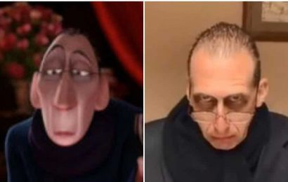 TikTok user's dad looks exactly like Anton Ego from Ratatouille. Watch transformation video