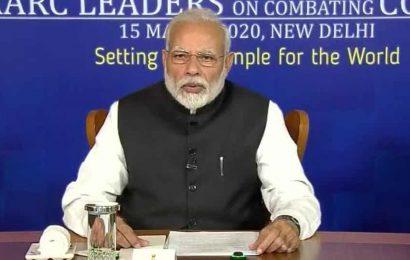 'Prepare but do not panic': PM Modi conveys India's message on coronavirus to SAARC nations