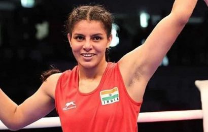 Sakshi Chaudhary advances to quarters of boxing's Asian Olympic Qualifiers